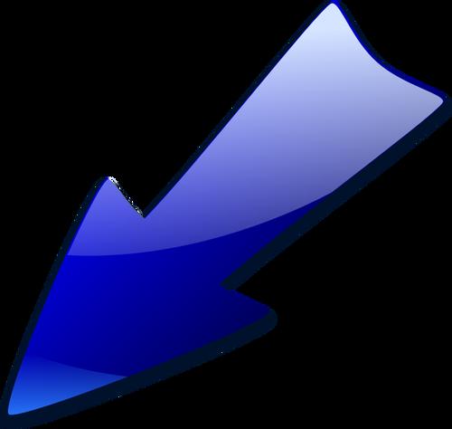 500x474 Double Arrow Pointing Down Vector Clip Art Public Domain Vectors