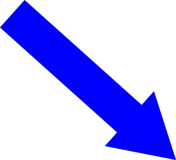 600x545 Arrow Down And Right Clip Art