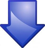 189x200 Arrow Pointing Down Clip Art Download 1,000 Clip Arts