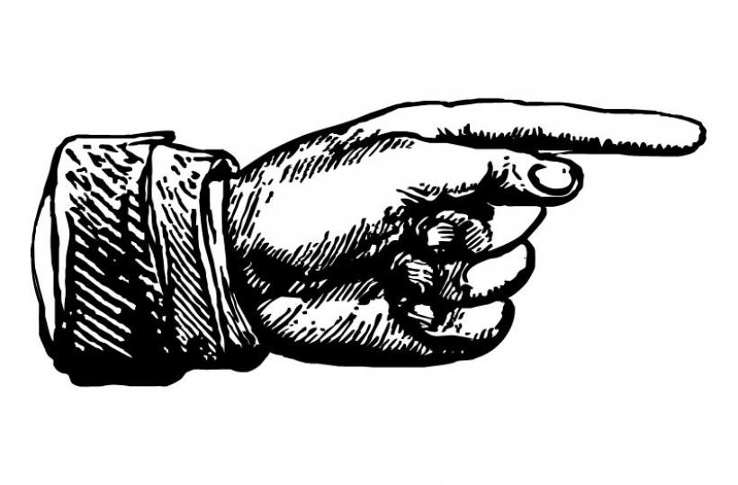 820x539 Clipart Hand Pointing Finger Clipart Hand Pointing Finger Pointer