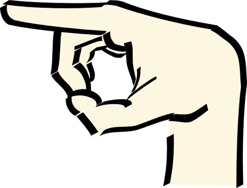 485x368 Old Time Pointing Hand Free Vector Download (7,826 Free Vector
