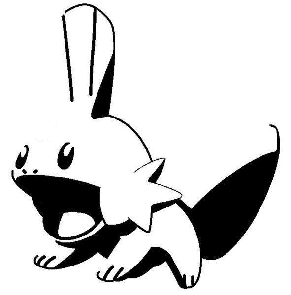 Pokemon Clipart Black And White