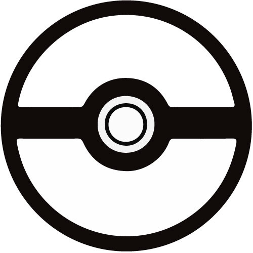 Pokemon Clipart Black And White | Free download on ClipArtMag