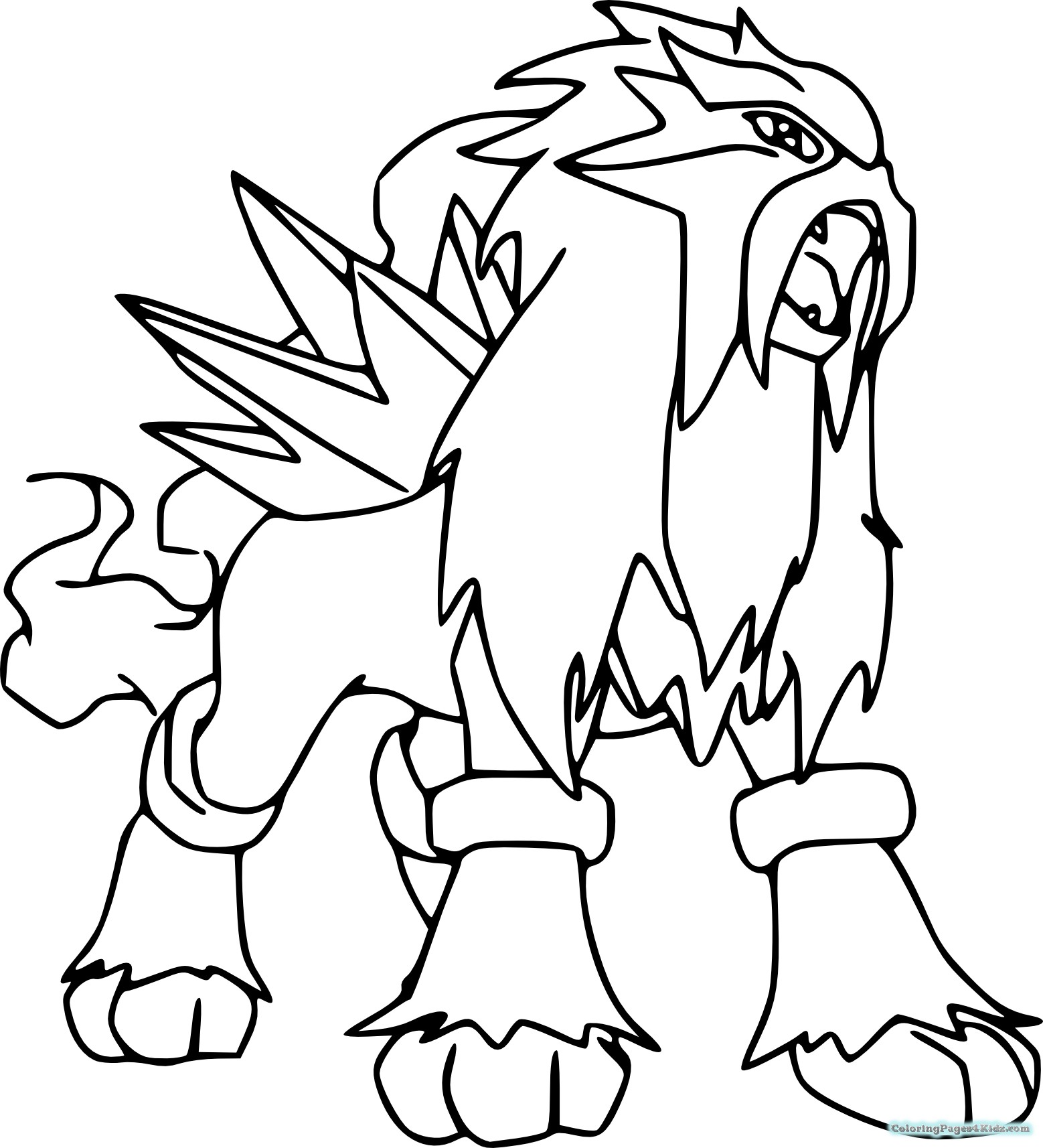 Pokemon Coloring Pages Free Download Best Pokemon Coloring