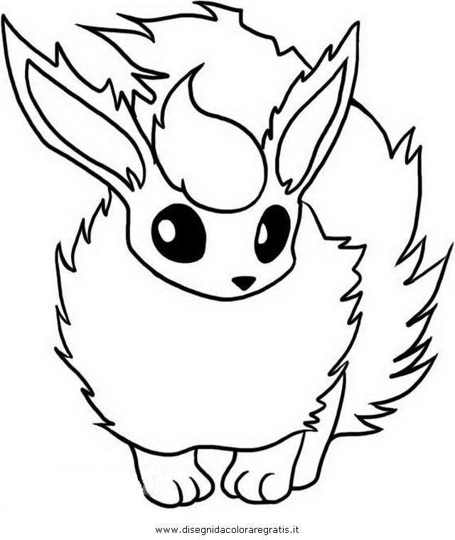 640x760 Pokemon Coloring Pages Eevee Evolutions