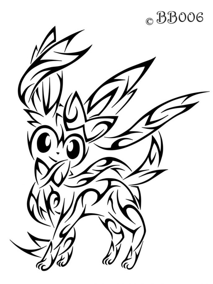 Pokemon Coloring Pages X And Y Free Download Best Pokemon