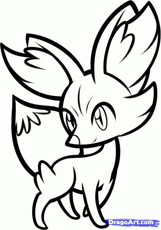 564x805 Pokemon Coloring Pages Fennekin Print Coloring Pokemon Xy Pages