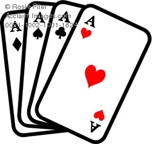 300x284 Clipart Illustration Of Playing Cards