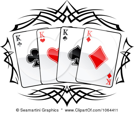 450x379 Poker Cards Clipart