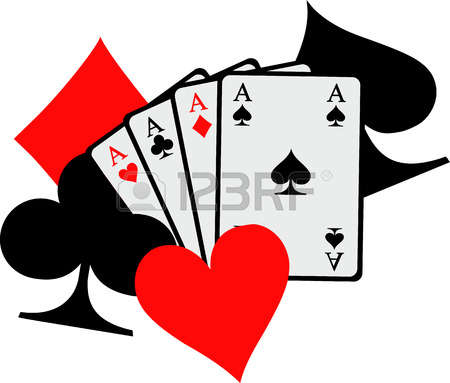 450x383 Poker Clipart Card Game