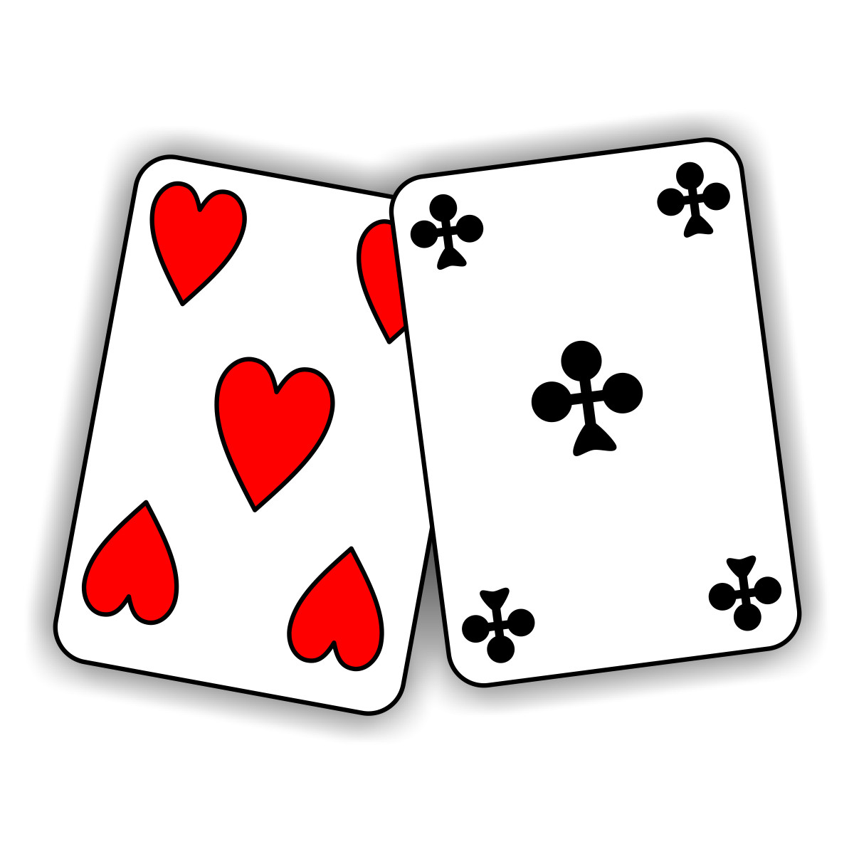 1200x1200 Poker Cards Clipart