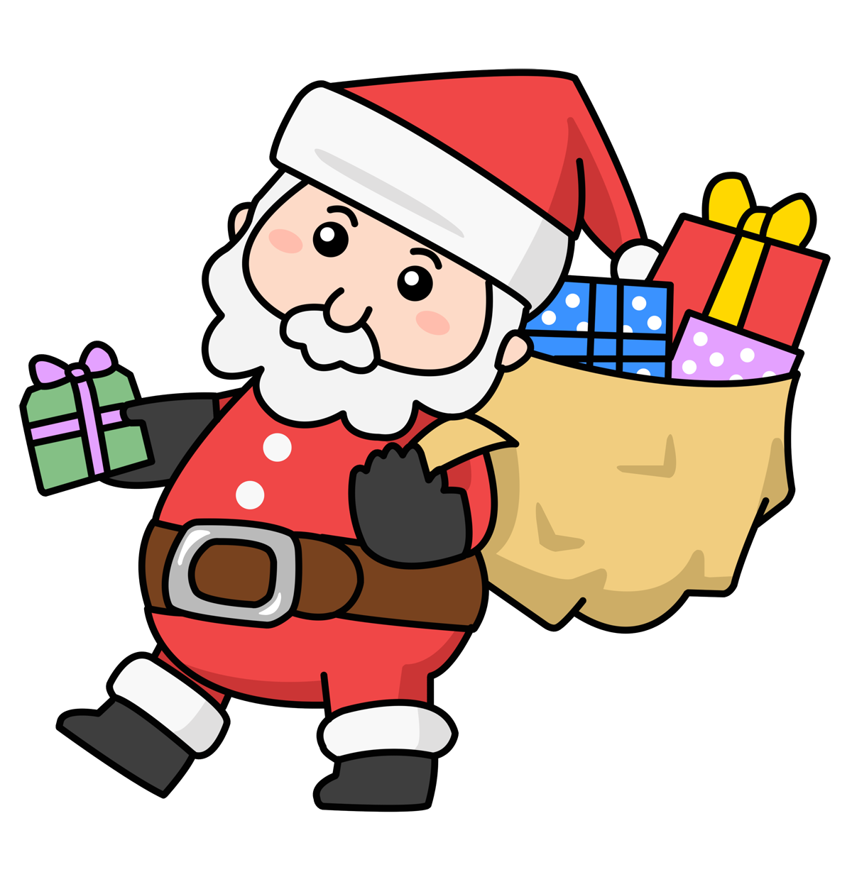 1200x1229 Santa Free To Use Clipart 3