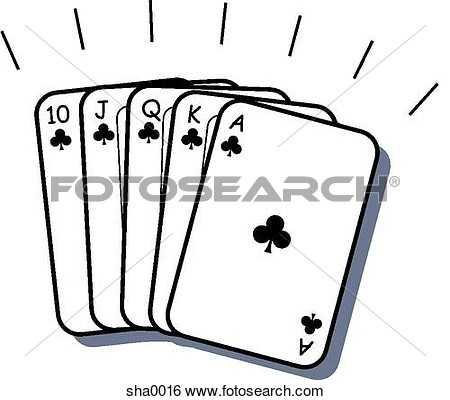 450x400 Poker Clip Art
