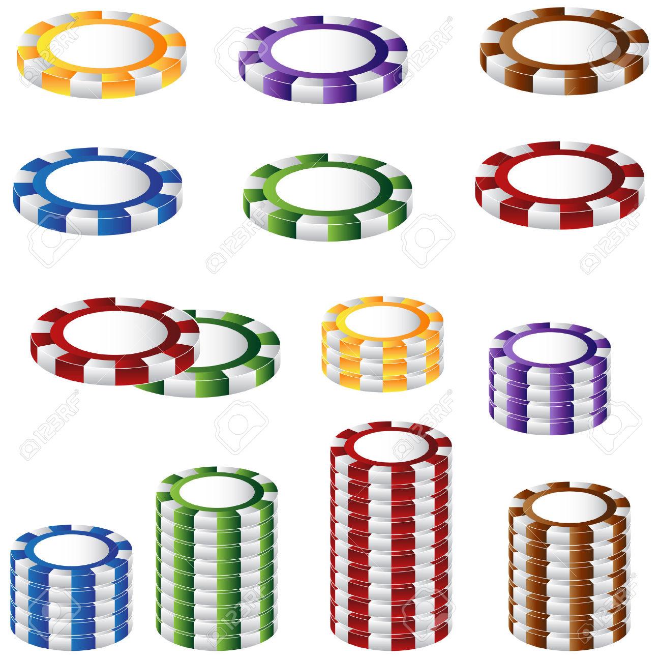 1300x1300 Chips Clipart Las Vegas