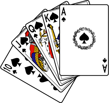 372x352 Poker Clipart Deck Card