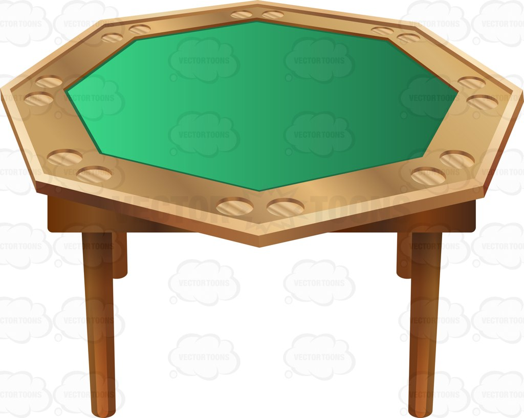 1024x817 Poker Clipart Poker Table