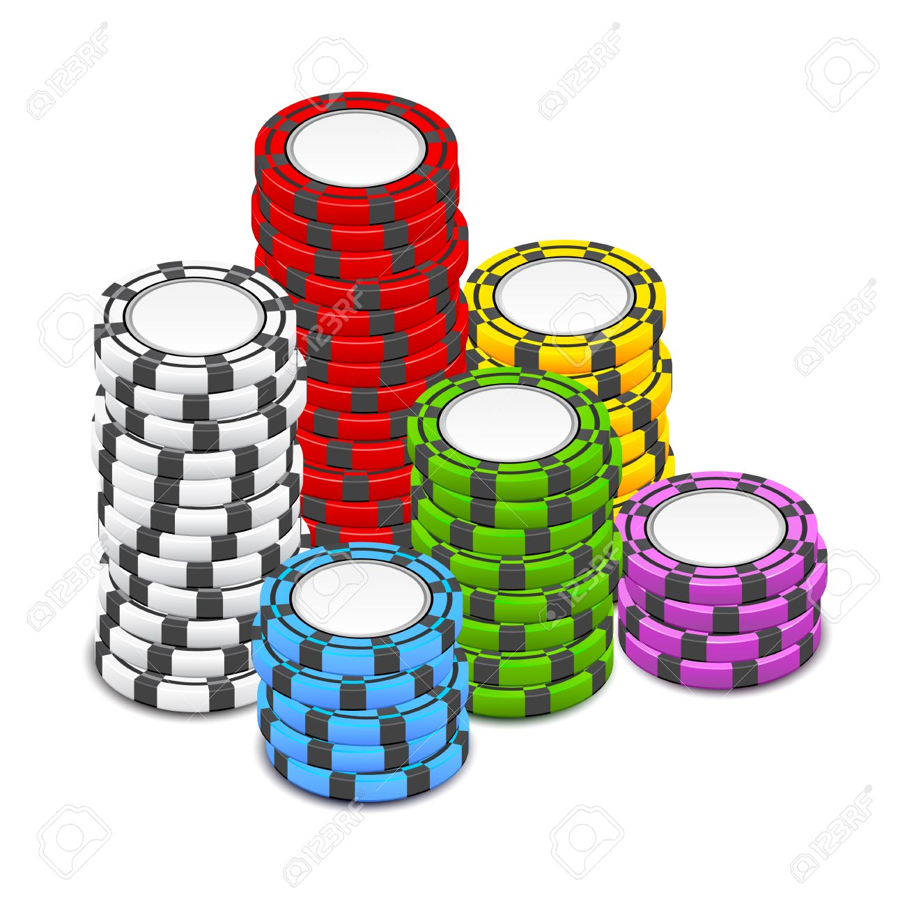 1299x1300 Clipart Of Poker Chips