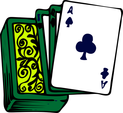 500x461 Deck Clipart Poker Card