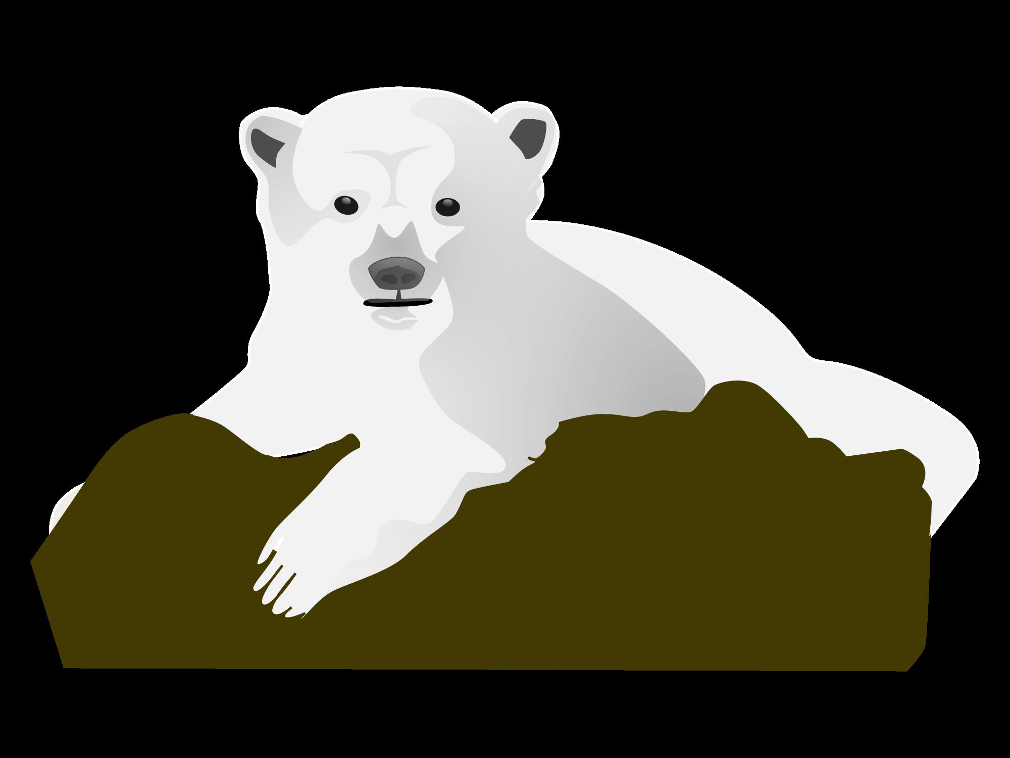 2000x1500 Filepolar Bear Clip Art.svg