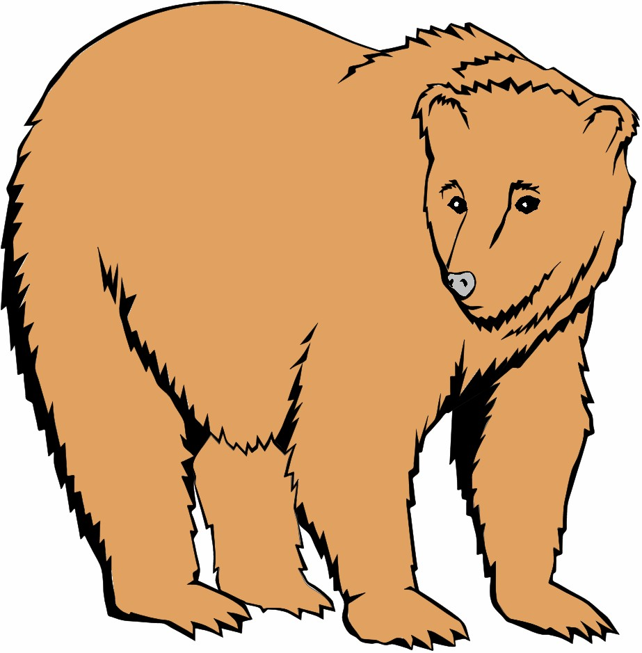 923x939 Grizzly Bear Clip Art Grizzly Clipart For You Image