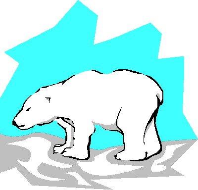 400x384 Nice Polar Bear Clipart Clip Art Clip Art Polar Bears