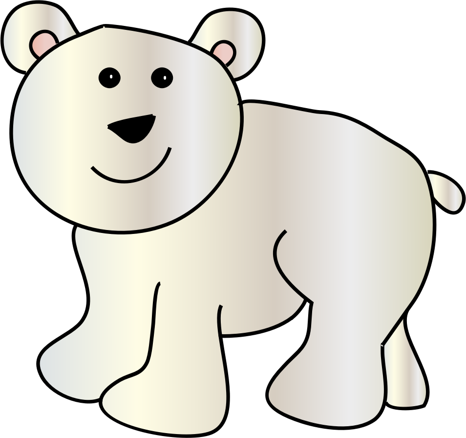 954x895 Polar Bear Clip Art Polar Bears And Clipartix 2