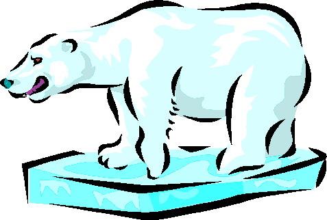477x322 Polar Bears Clip Art 5