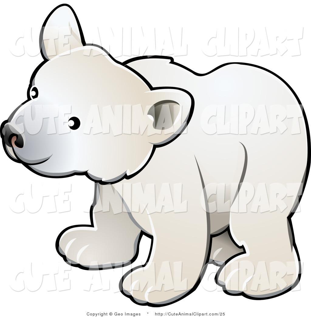 1024x1044 Vector Clip Art Of A Cute Polar Bear Cub By Atstockillustration