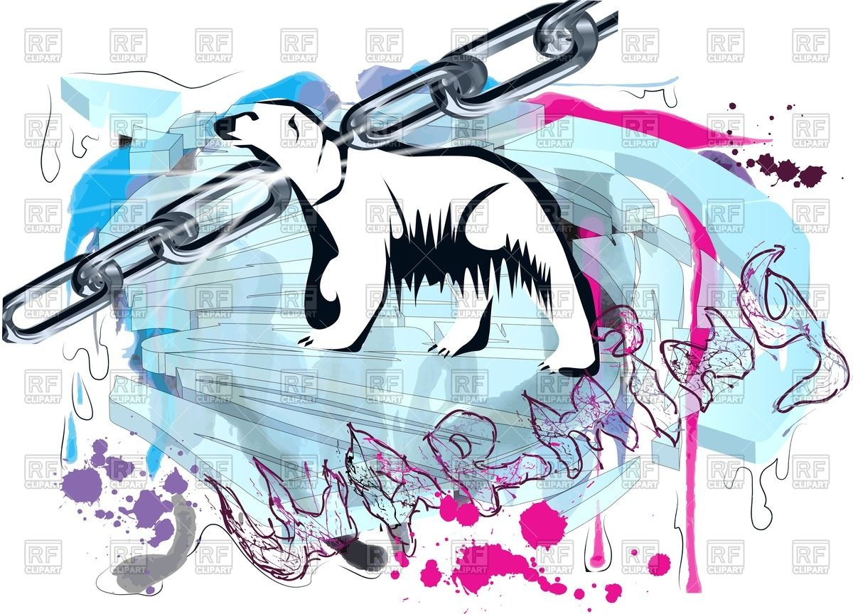 1200x864 Concept Of Global Warming With Polar Bear Royalty Free Vector Clip