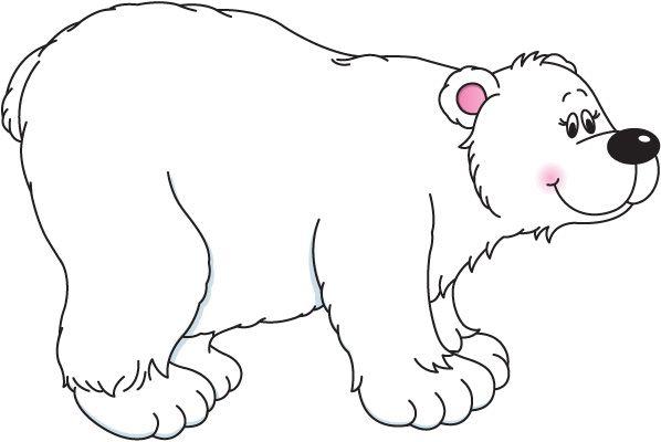 598x400 Bear Clipart Ploar 2423645