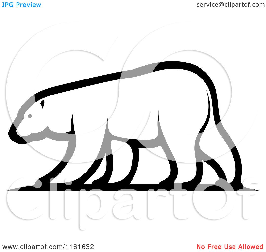 1080x1024 Polar Bear Cartoon Clipart