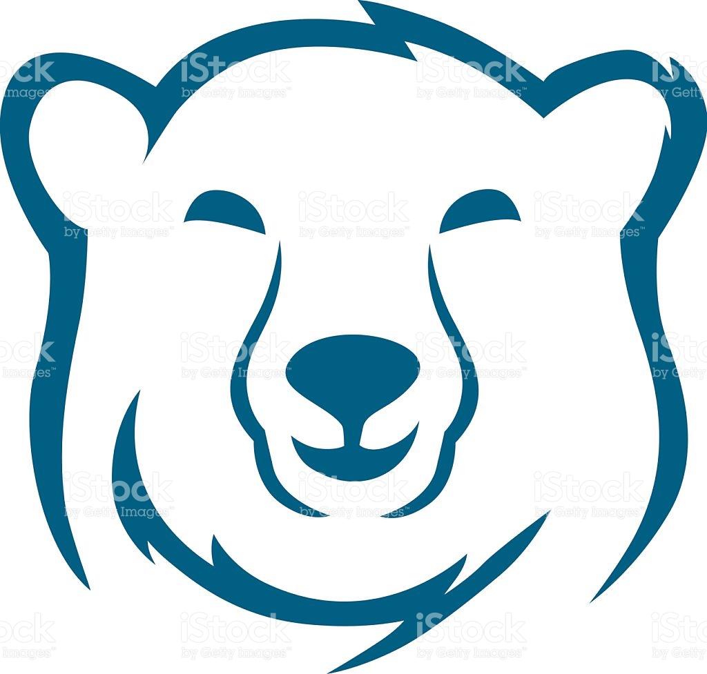 1024x977 Polar Bear Clipart Head