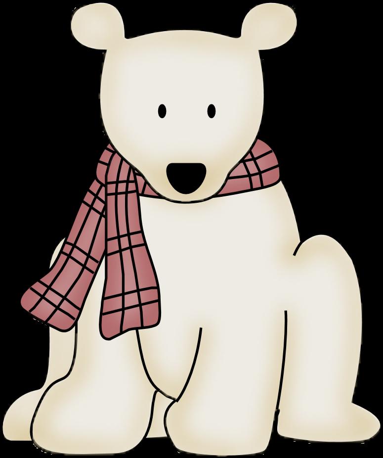 775x926 Polar Bear Clipart January