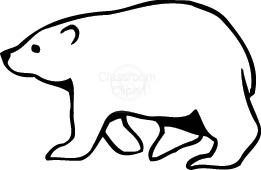 261x170 Best Photos Of Polar Bear Silhouette Clip Art