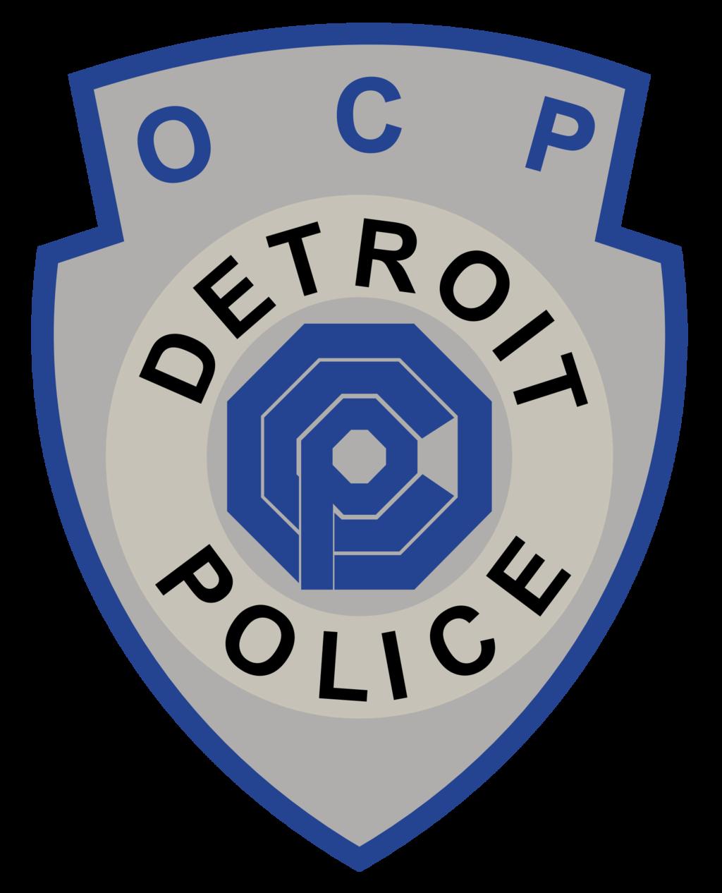 1024x1266 Ocp Detroit Police Badge Ver 2 By Pointingmonkey