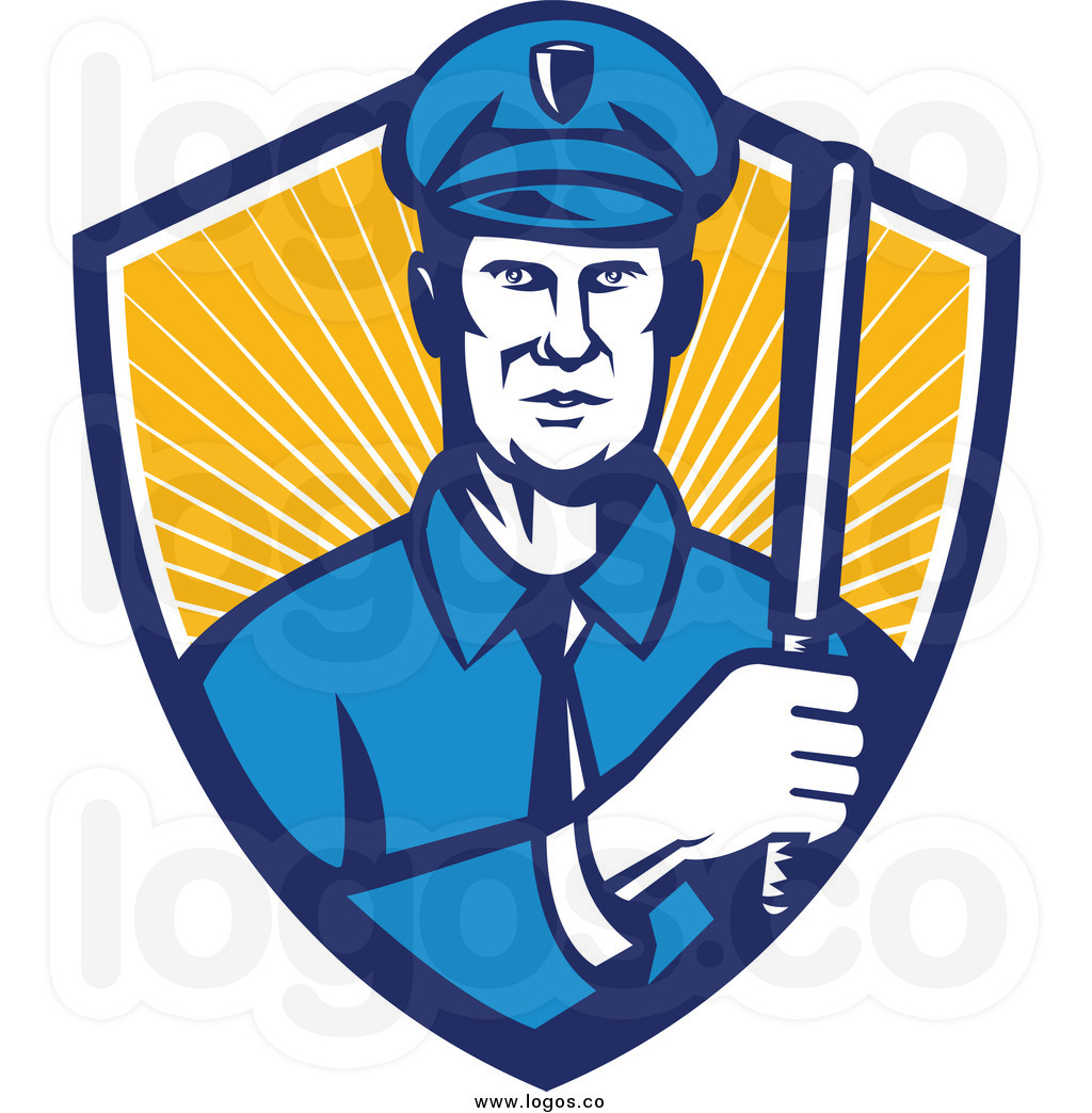 1024x1044 Blue Police Badge Clipart