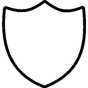 300x300 Police Badge Outline Clipart