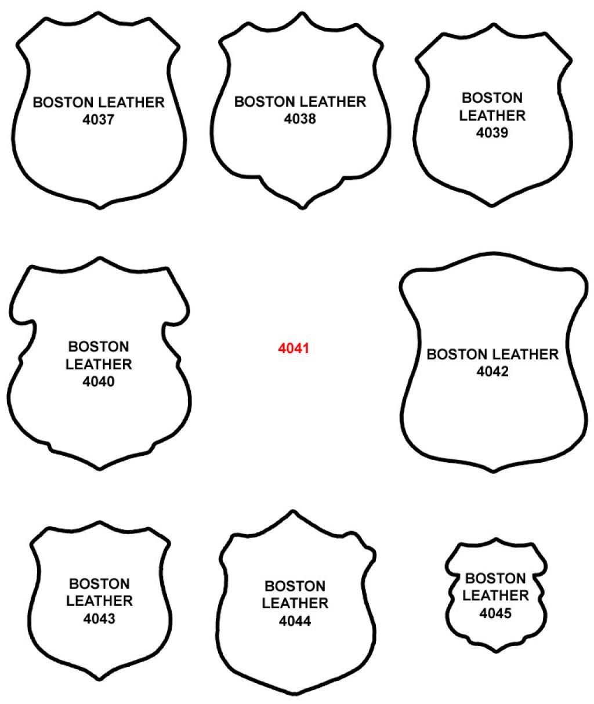 1024x1214 Clip Art Police Badge Outline Clip Art