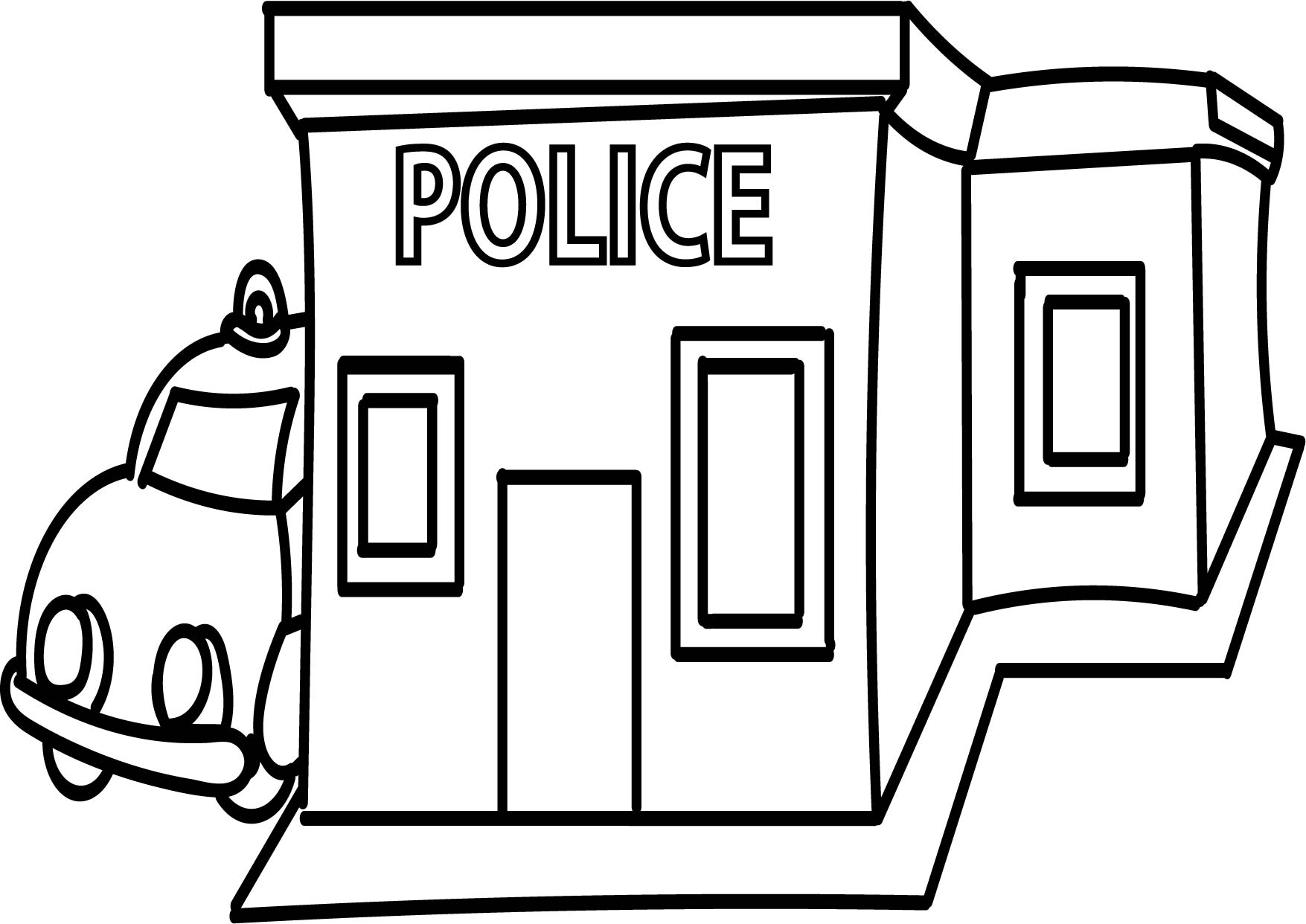 1755x1242 Coloring Pages Boys Police Coloring Page Badge Printable Pages