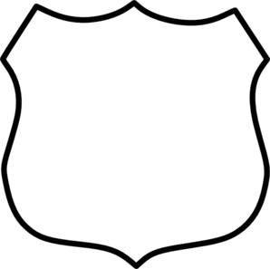 298x297 Cop Clipart Police Badge