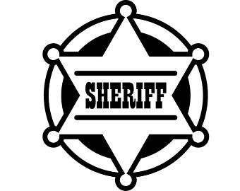 340x270 Sheriff Badge Etsy