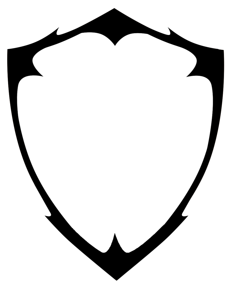 800x1000 Shield Clipart Blank
