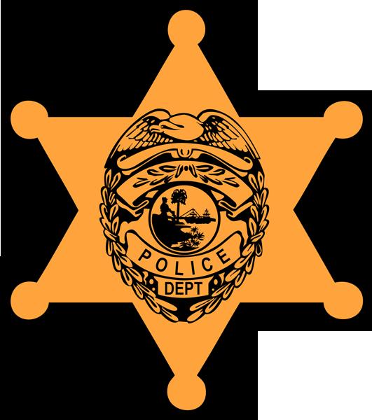 531x600 Police Badge Clip Art