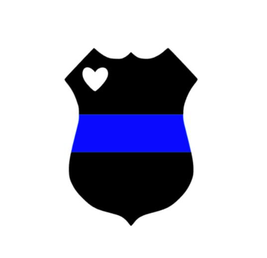 537x519 Police Clipart Blue