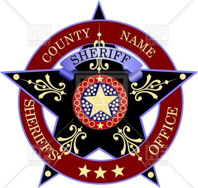 400x381 Sheriff's Badge