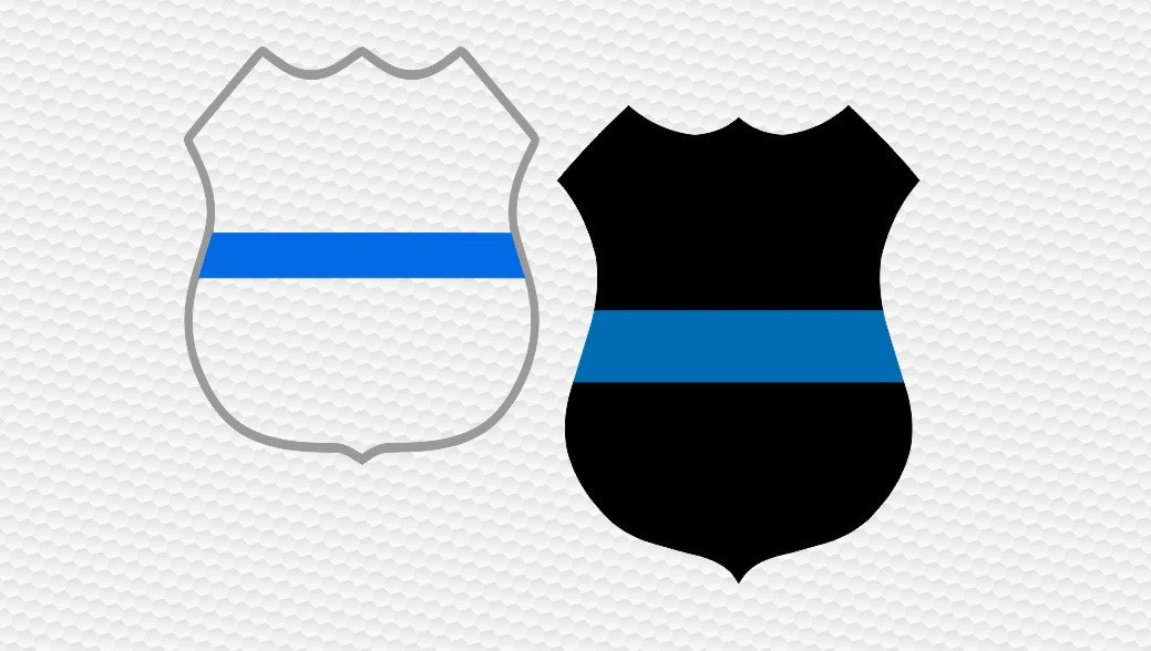 1039x588 Thin Blue Line Police Badge Svg Police Svg Law Enforcement