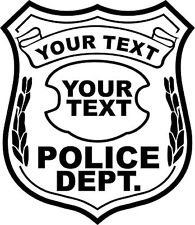 195x225 Police Badge Black And White Clipart 2008805