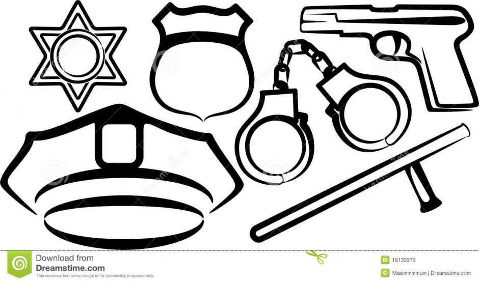 940x556 Police Hat Coloring Page Murderthestout
