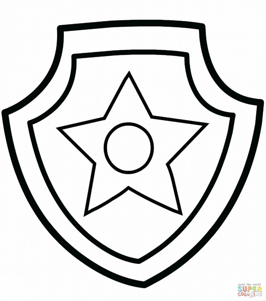 graphic relating to Printable Police Badges known as Law enforcement Badge Drawing No cost down load suitable Law enforcement Badge