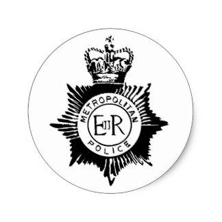 324x324 Custom Police Badge Stickers Zazzle.ca